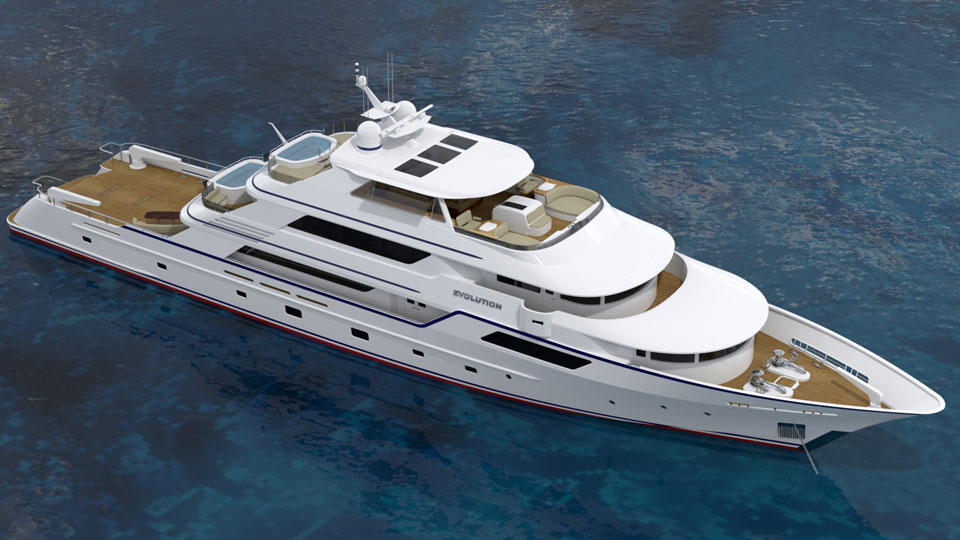 CHY50 - Evolution 50 Meter Luxury Explorer Yacht