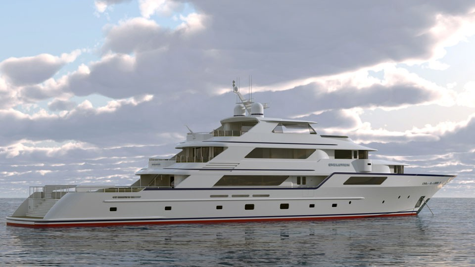 Private Luxury Explorer Yacht 50 Meter