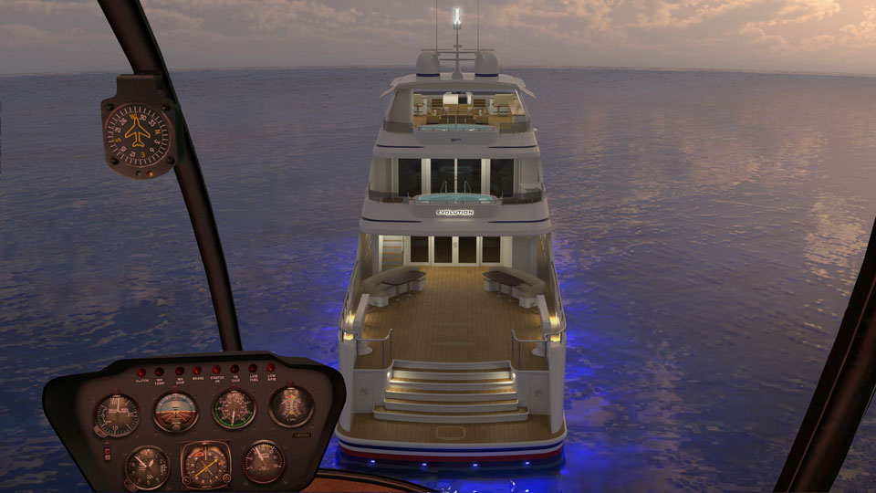 Evolution 50 Meter Luxury Explorer Yacht