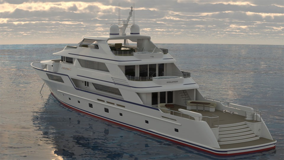 Luxury Explorer 50 Meter Yacht from Trinity Yachts